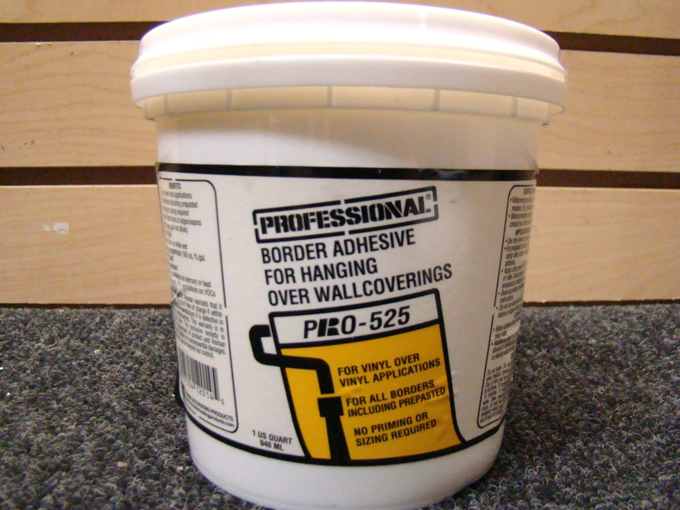 PROFESSIONAL BORDER ADHESIVE PRO-5251 U.S. QUART (946ML.) RV Accessories