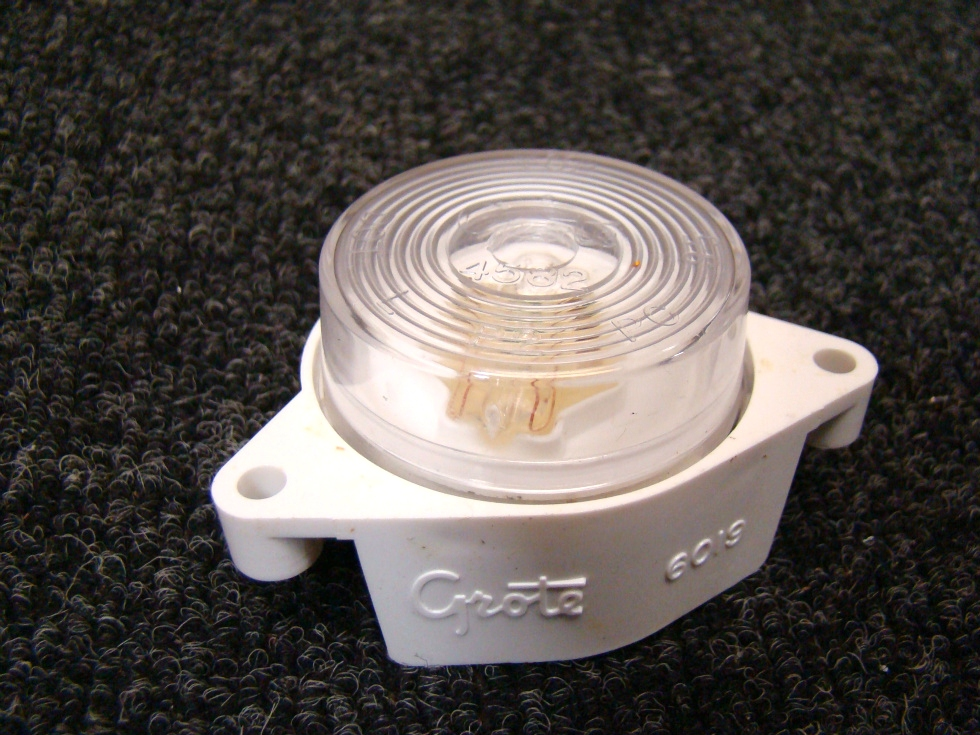 NEW COUTSEY LAMP 60191 GROTE AS LICENSE AND AUXILIARY LIGHTS PRICE: $2.99  RV Accessories