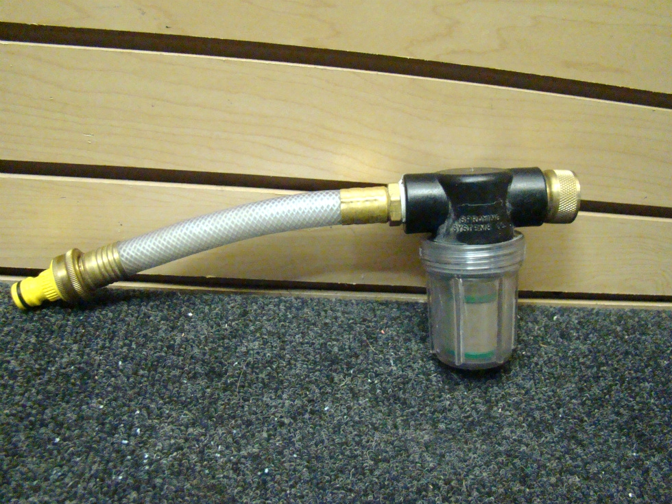 USED RV/MOTORHOME WATER FILTER PURIFIER PN:D09-0010  RV Accessories