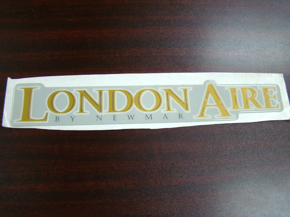 NEW RV/MOTORHOME LONDON AIRE BY NEWMAR RAISED DECAL RV Accessories