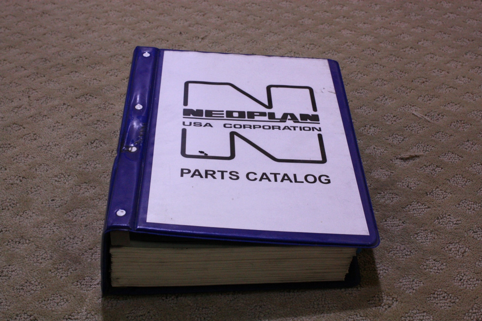 USED NEOPLAN USA CORPORATION 1992 PARTS CATALOG FOR SALE RV Accessories