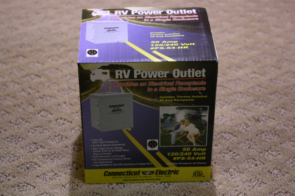 NEW RV POWER OUTLET PS-54-HR  FOR SALE RV Accessories