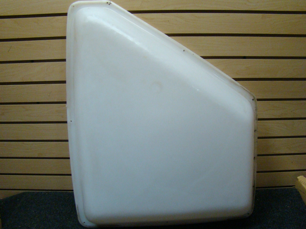USED RV/MOTORHOME WHITE BATHROOM CEILING VENT COVER  RV Accessories