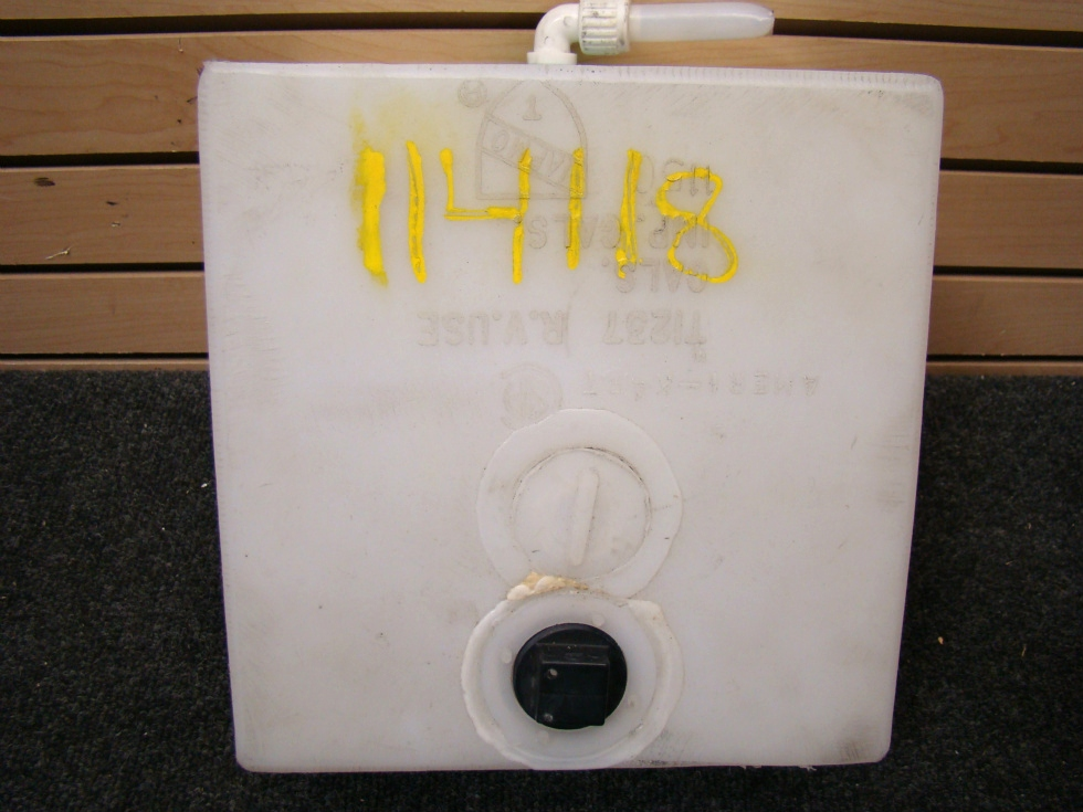USED RV/MOTORHOME 2 GALLON RESERVOIR WATER TANK FOR SALE RV Accessories