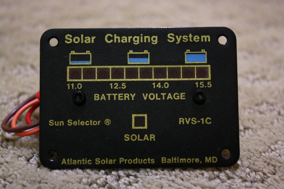 SOLAR CHARGING SYSTEM RVS-1C FOR SALE RV Accessories