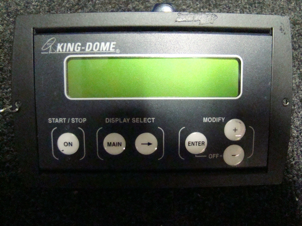 USED RV/MOTORHOME KING DOME SATELLITE DISPLAY CONTROLLER FOR SALE RV Accessories