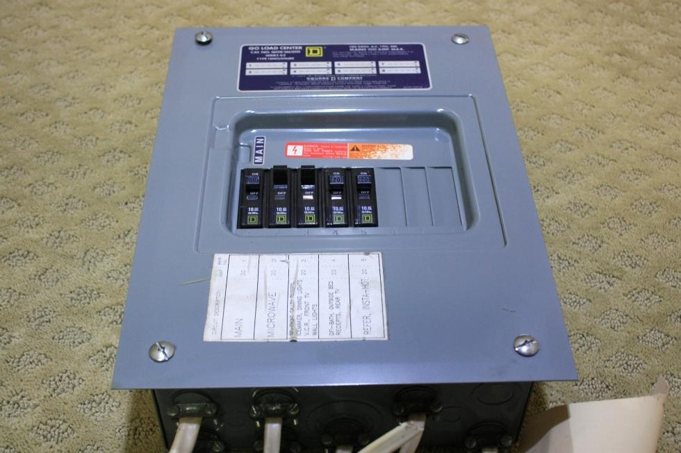 USED QO LOAD CENTER QO8-16L100 FOR SALE RV Accessories