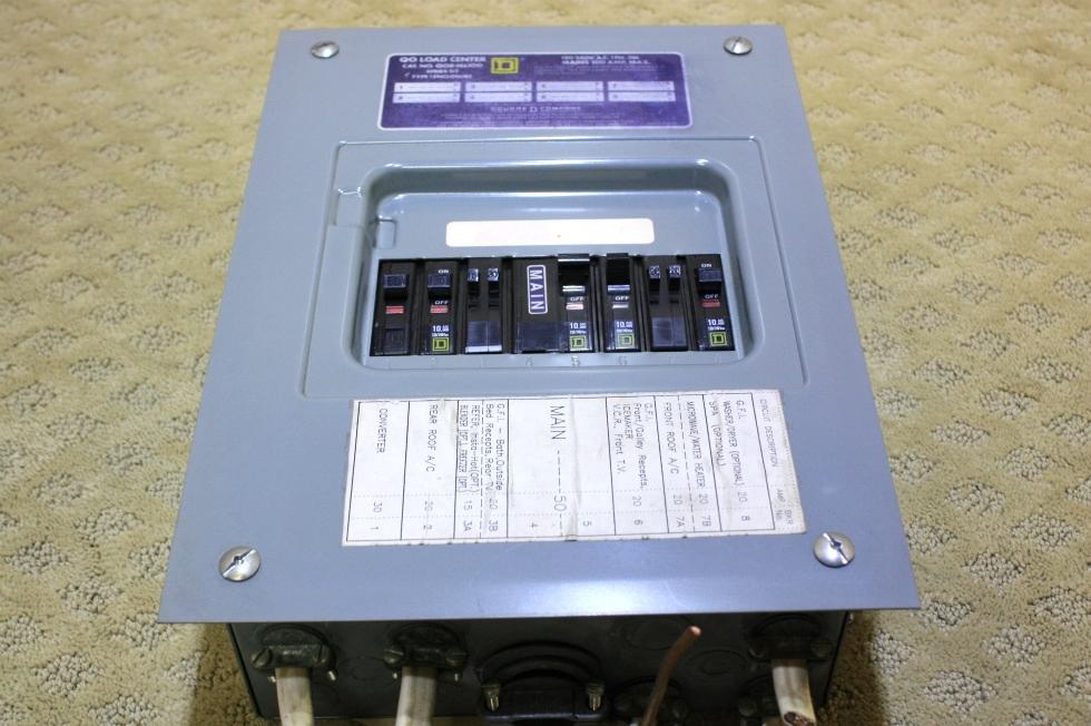USED QO LOAD CENTER TYPE 1 ENCLOSURE FOR SALE RV Accessories