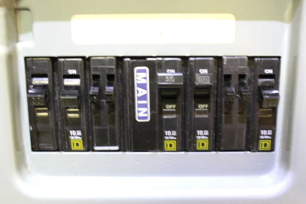 RV Accessories USED QO LOAD CENTER TYPE 1 ENCLOSURE FOR SALE RV ...