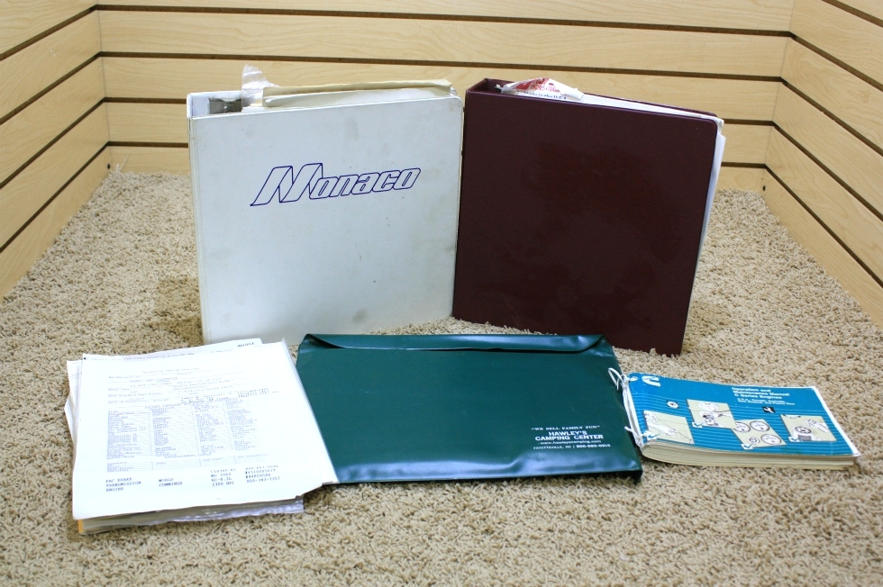 USED 1993 MONACO CROWN ROYALE OWNERS MANUAL FOR SALE RV Accessories