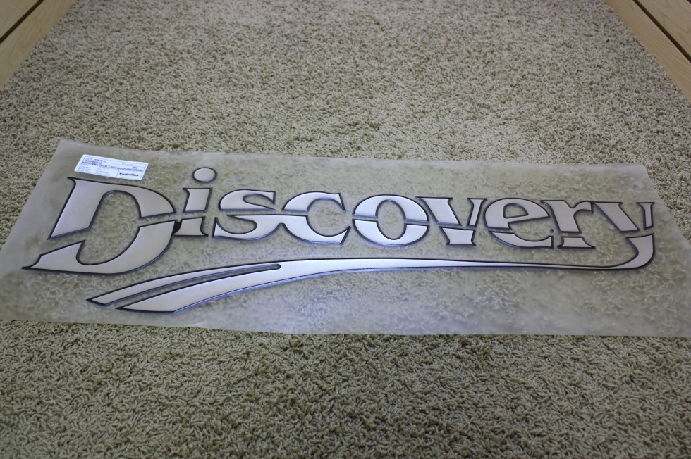 NEW DISCOVERY FLAT DECAL-LOGO FOR SALE RV Accessories