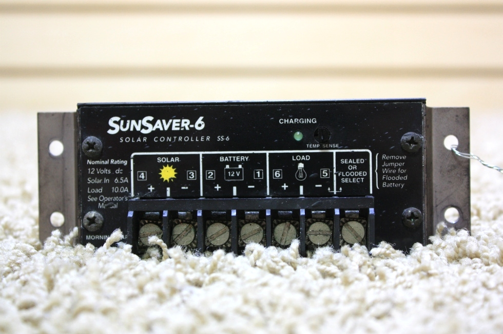 USED SUNSAVER-6 SOLAR CONTROLLER FOR SALE RV Accessories