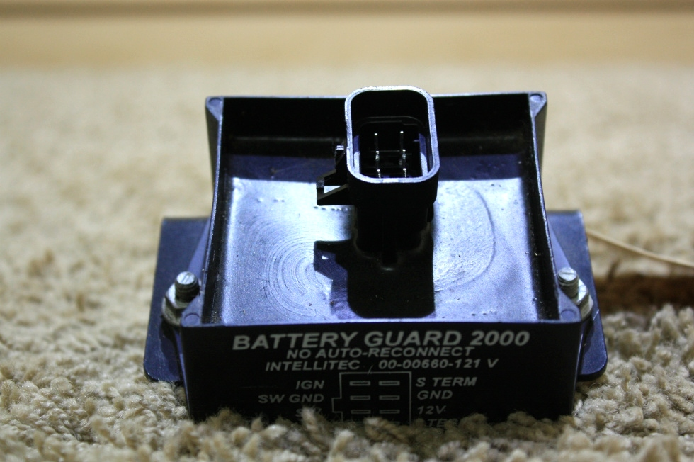 Used Rv Parts Intellitec Battery Guard 2000 For