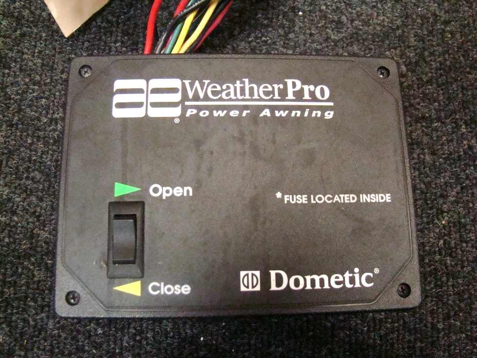 Rv Accessories Used Rv Motorhome Weather Pro Power Awning