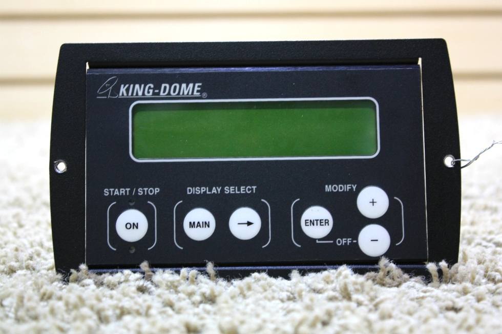 USED MOTORHOME KING DOME SATELLITE CONTROL TOUCH PAD FOR SALE RV Accessories