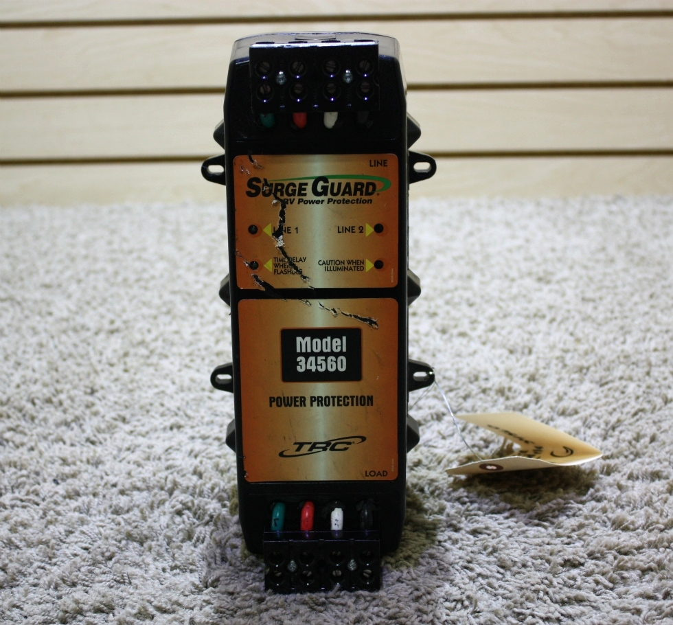 USED MOTORHOME SURGE GUARD RV POWER PROTECTION MODEL 34560 FOR SALE RV Accessories