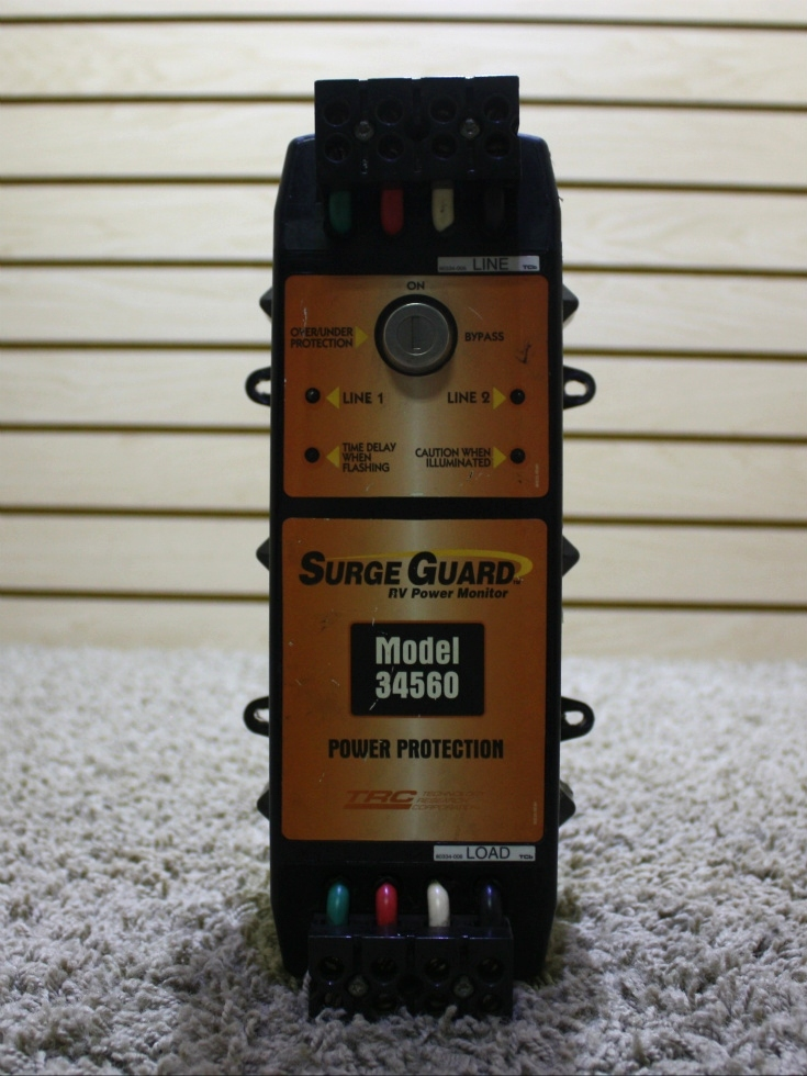 USED SURGE GUARD POWER PROTECTION MODEL: 34560 RV PARTS FOR SALE RV Accessories