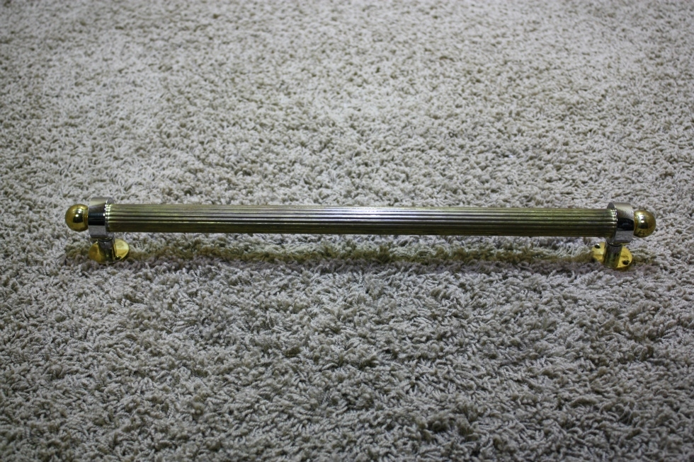 USED RV INTERIOR BRASS WITH SILVER ACCENT GRAB HANDLE FOR SALE RV Accessories