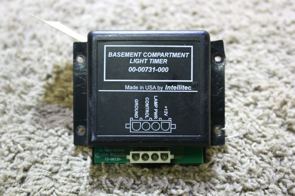 USED RV BASEMENT COMPARTMENT LIGHT TIMER BY INTELLITEC 00-00731-000 FOR SALE RV Accessories