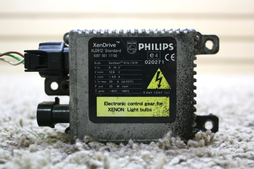 USED PHILIPS XENDRIVE XLD912 STANDARD ELECTRONIC CONTROL GEAR MODULE MOTORHOME PARTS FOR SALE RV Accessories