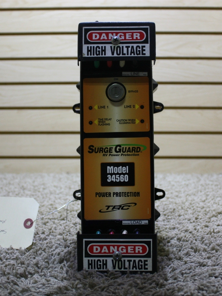 USED MOTORHOME SURGE GUARD RV POWER PROTECTION MODEL: 34560 FOR SALE RV Accessories