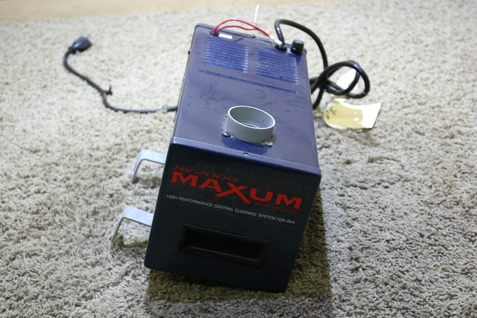 USED RV MAXUM BY VACUFLO RV2000 VACUUM SYSTEM FOR SALE RV Accessories