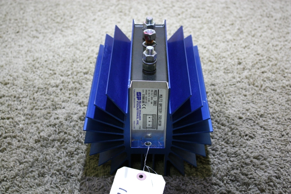 USED MOTORHOME SURE POWER MULTI BATTERY ISOLATER MODEL: 3002 FOR SALE RV Accessories