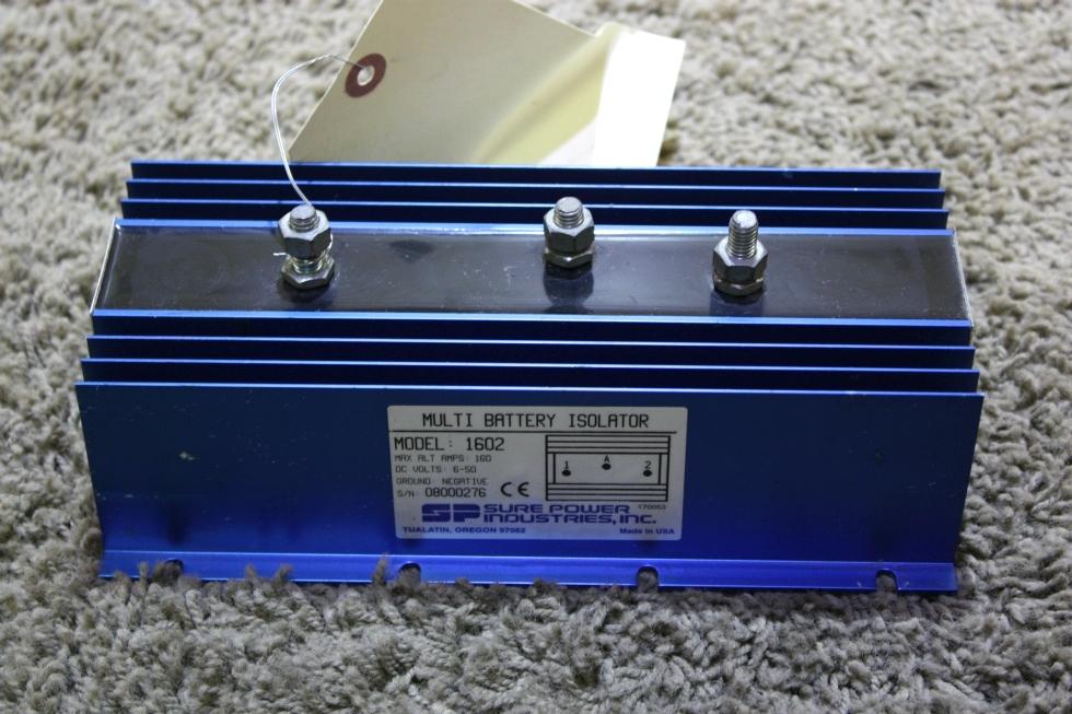 USED RV SURE POWER MODEL: 1602 MULTI BATTERY ISOLATOR FOR SALE RV Accessories