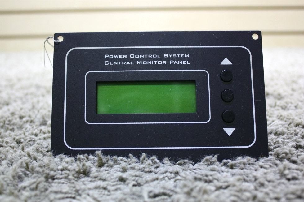 Rv Electrical System Monitor : Rv accessories used power control system central monitor