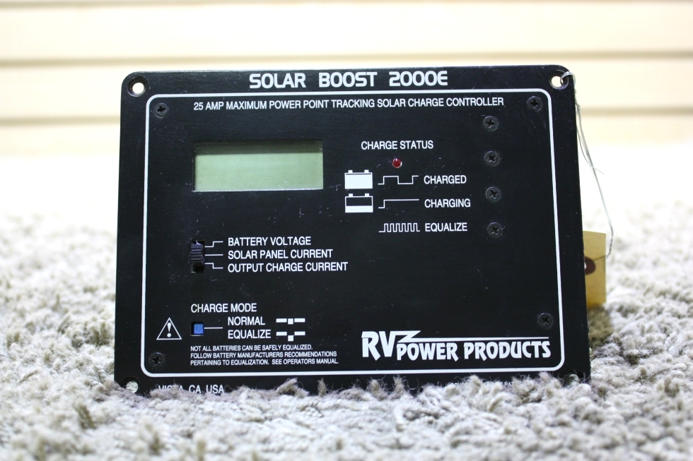 USED RV POWER PRODUCTS SOLAR BOOST 2000E MOTORHOME PARTS FOR SALE RV Accessories