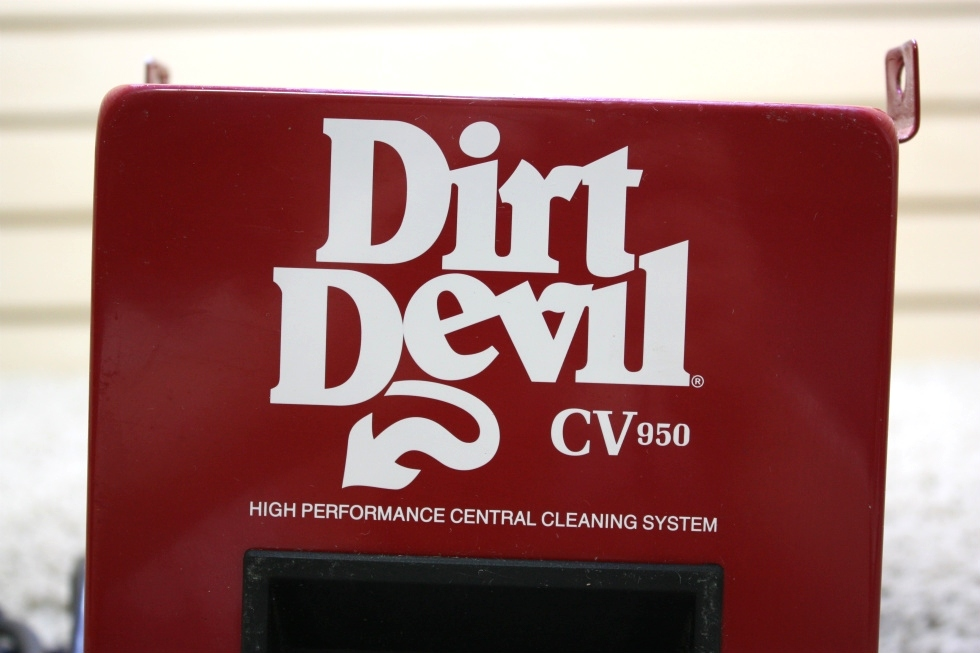 USED RV DIRT DEVIL CV950 HIGH PERFORMANCE CENTRAL CLEANING SYSTEM FOR SALE RV Accessories