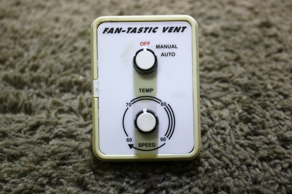 USED RV FAN-TASTIC VENT SWITCH PANEL FOR SALE RV Accessories