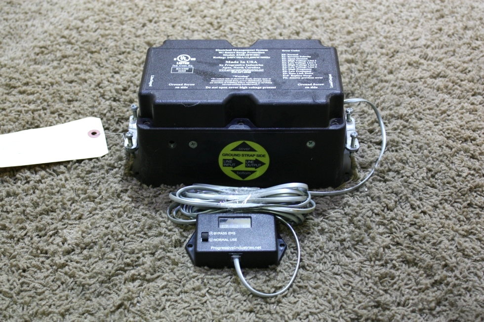 USED RV ELECTRICAL MANAGEMENT SYSTEM W/ SMART SURGE PROTECTION EMS-HW50C FOR SALE RV Accessories