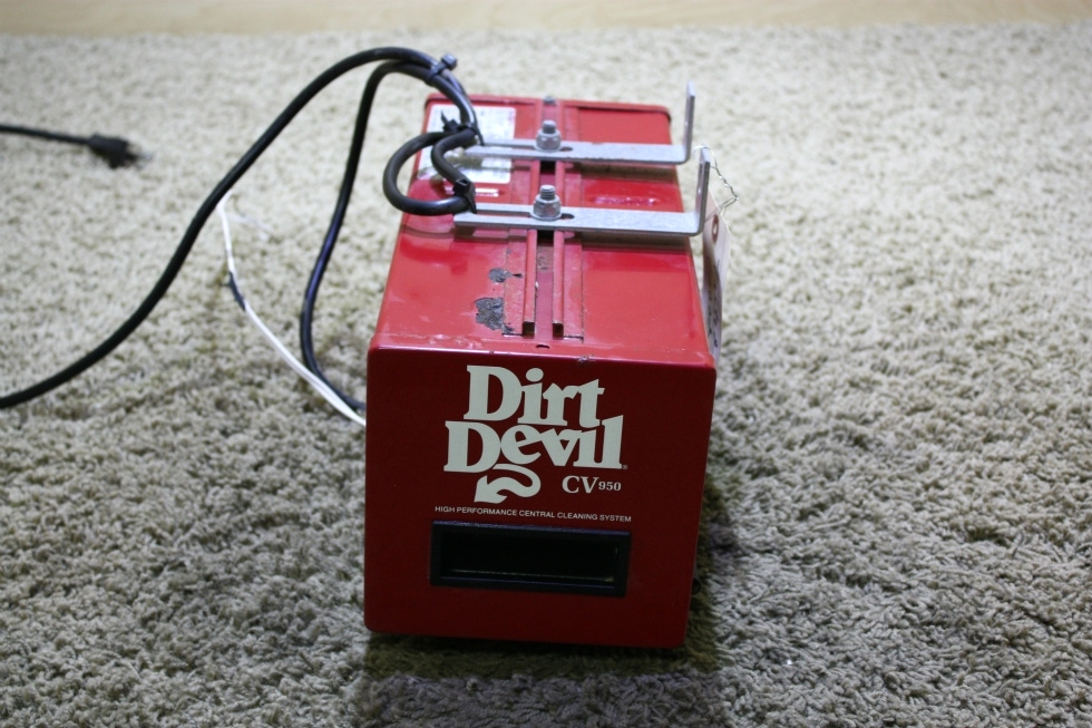 USED DIRT DEVIL CV950 MOTORHOME CLEANING SYSTEM FOR SALE RV Accessories