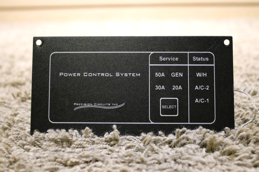 USED RV PRECISION CIRCUITS POWER CONTROL SYSTEM PANEL FOR SALE RV Accessories