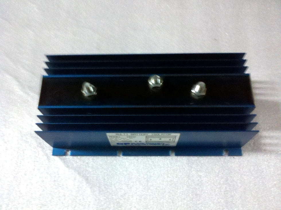 USED SURE POWER IND. BATTERY ISOLATOR MODEL: 1602 RV Accessories