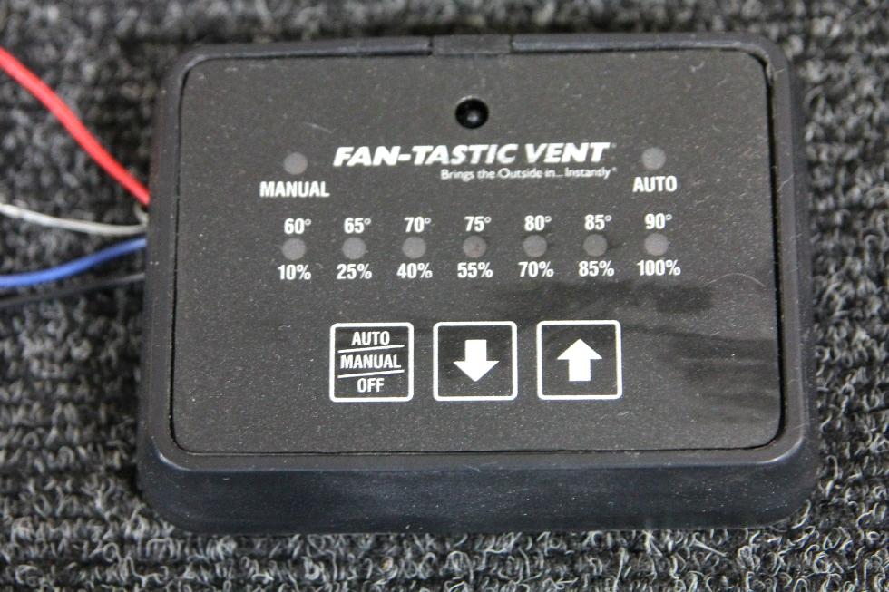 USED RV/MOTORHOME/CAMPER KIB FANTASTIC VENT CONTROLLER BLACK PN: MC411D *OUT OF STOCK* RV Accessories