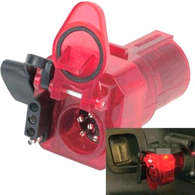 Husky 15326 ADAPTER 7 RV TO 6 RD AND 4 FLAT - Nite Glow Towing Products