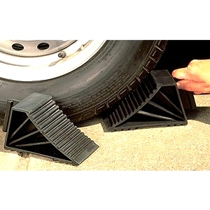 RV - Motorhome Wheel Chock By Husky  Towing Products