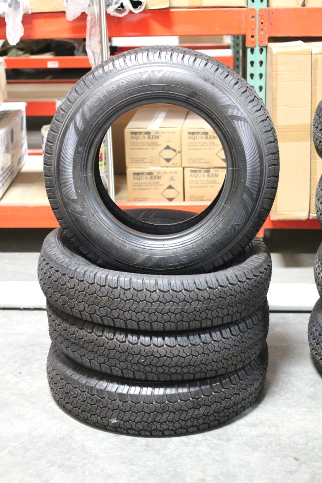 NEW VAIL SPORT TIRE SET LH99 LOAD RANGE: D FOR SALE Towing Products