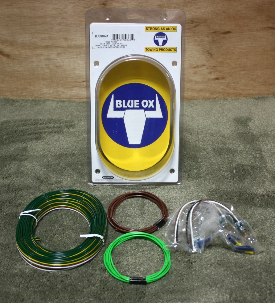 BLUE OX BX8869 TOW VEHICLE LIGHT KIT RV PARTS FOR SALE Towing Products