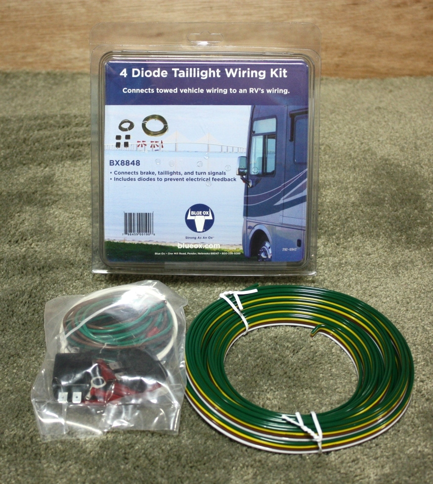 towing products rv blue ox bx8848 tow vehicle wiring kit. Black Bedroom Furniture Sets. Home Design Ideas