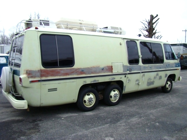 RV Parts 1975 GMC MOTORHOME MODEL 260 26FT FOR SALE RVs