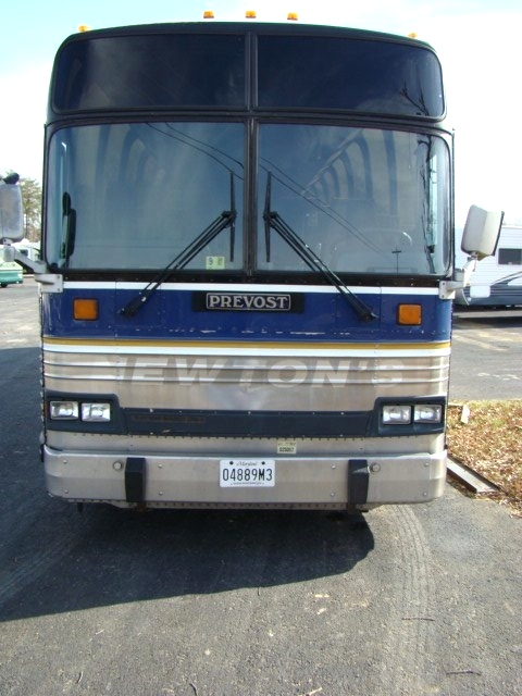 1989 PREVOST XL 40 BUS FOR SALE 46 PASSENGER  PARTING OUT CALL RV Parts