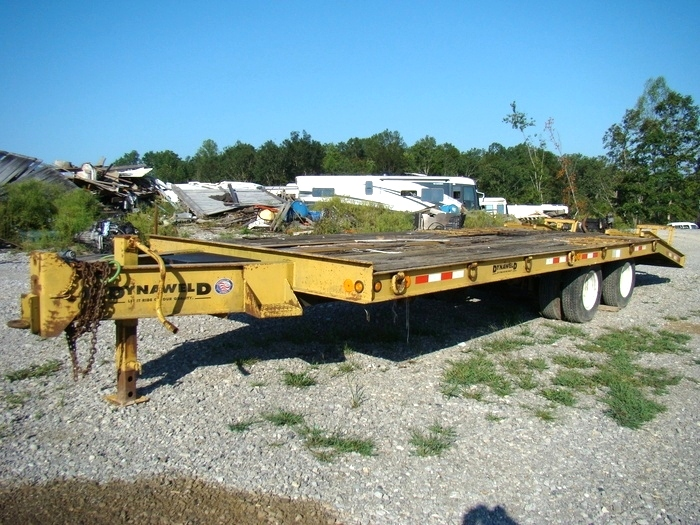 20 FT. DYNAWELD EQUIPMENT TRAILER YEAR: 2000 FOR SALE IN LONDON, KY. RV Parts