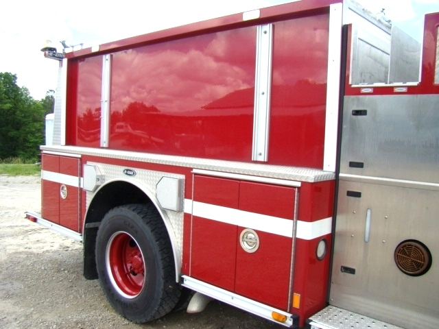 RV Parts 2001 E-ONE PUMPER FIRE TRUCK SPARTAN CHASSIS FOR
