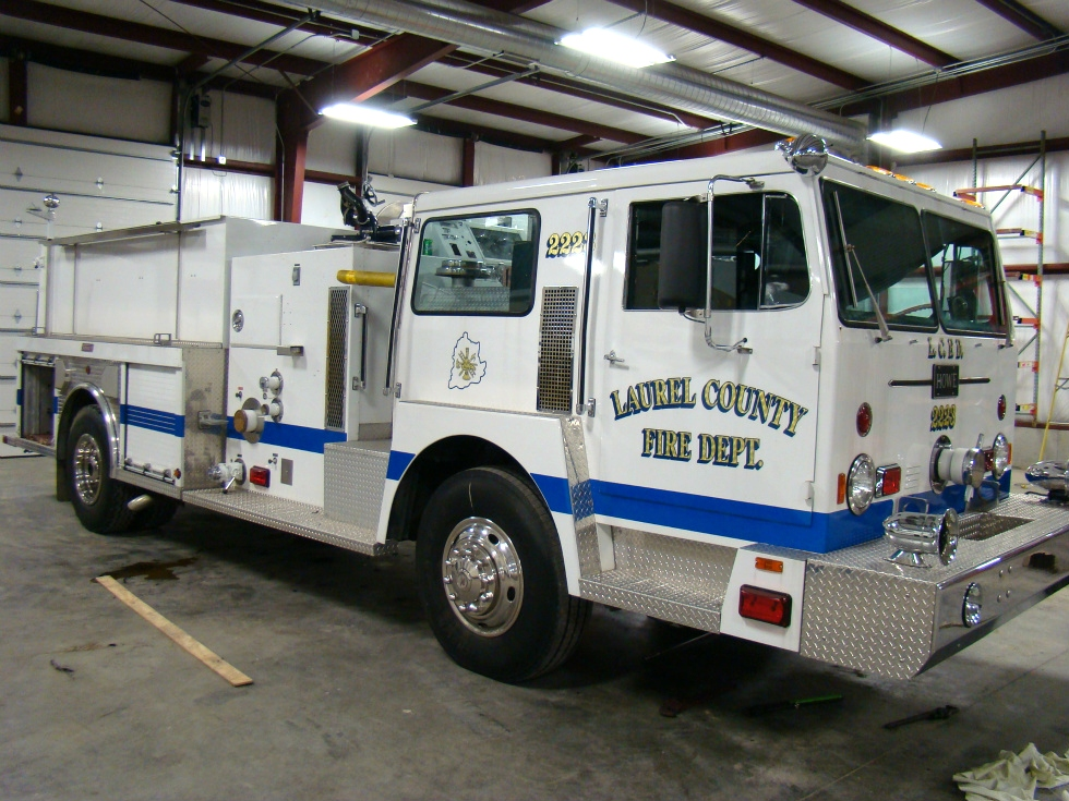 USED FIRE TRUCK PARTS FOR SALE CALL VISONE RV 606-843-9889 RV Parts