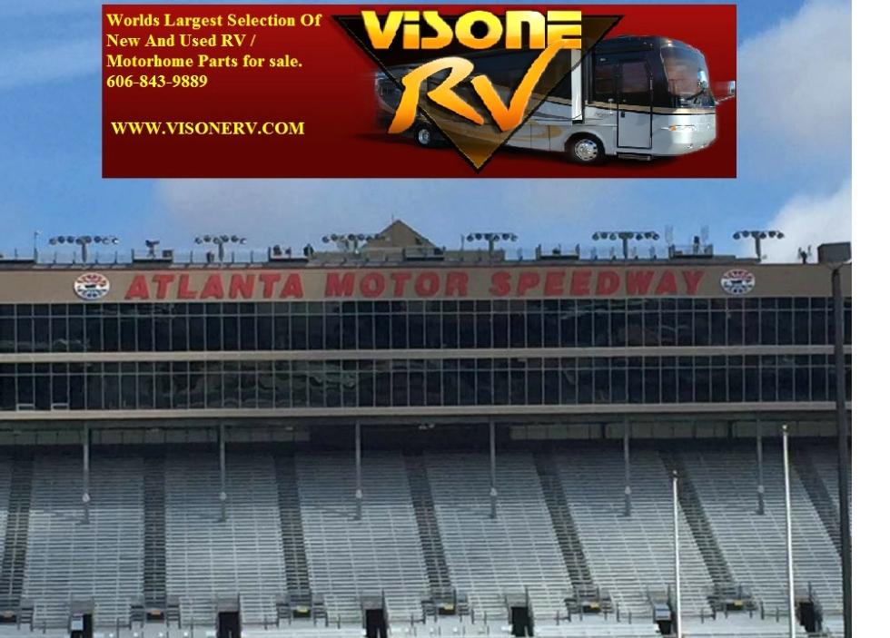 NASCAR ATLANTA MOTOR SPEEDWAY - GO GREEN RACING ( GGR ) RV Parts