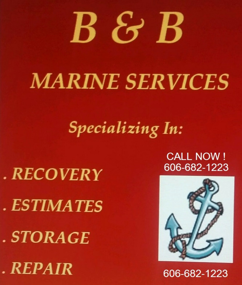 BOAT DAMAGE LAKE CUMBERLAND - B & B MARINE SERVICE BOAT TRANSPORTATION RV Parts