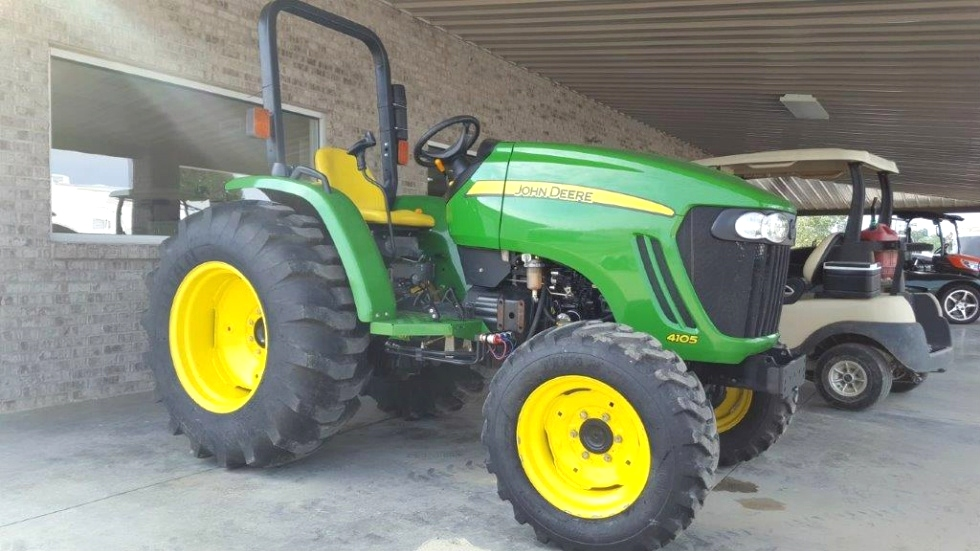 2014 JOHN DEERE 4105 TRACTOR ** SOLD ** RV Parts